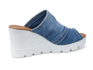 Slide chaussures jeans femme 44C-111