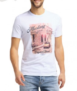 Mustang T-shirts homme  1009049-2045